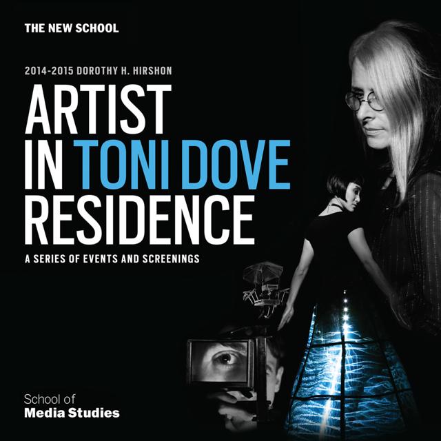 Toni Dove Dorothy H. Hirshon 2014-15 Artist-in-Residence